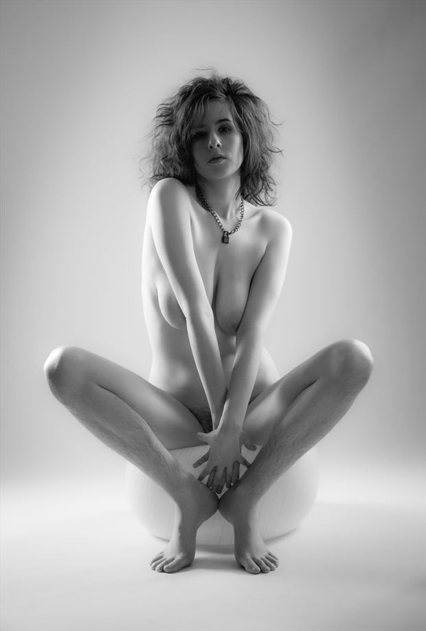 heels artistic nude photo by photographer allan taylor