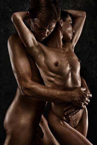held artistic nude photo by photographer r pedersen