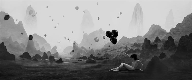 helium s earthly escape artistic nude photo by photographer javier