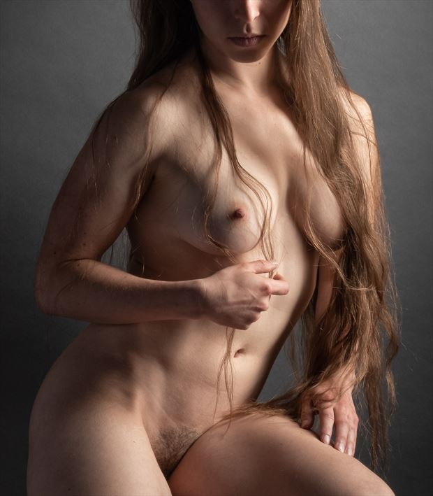 helping hand artistic nude photo by photographer rick jolson