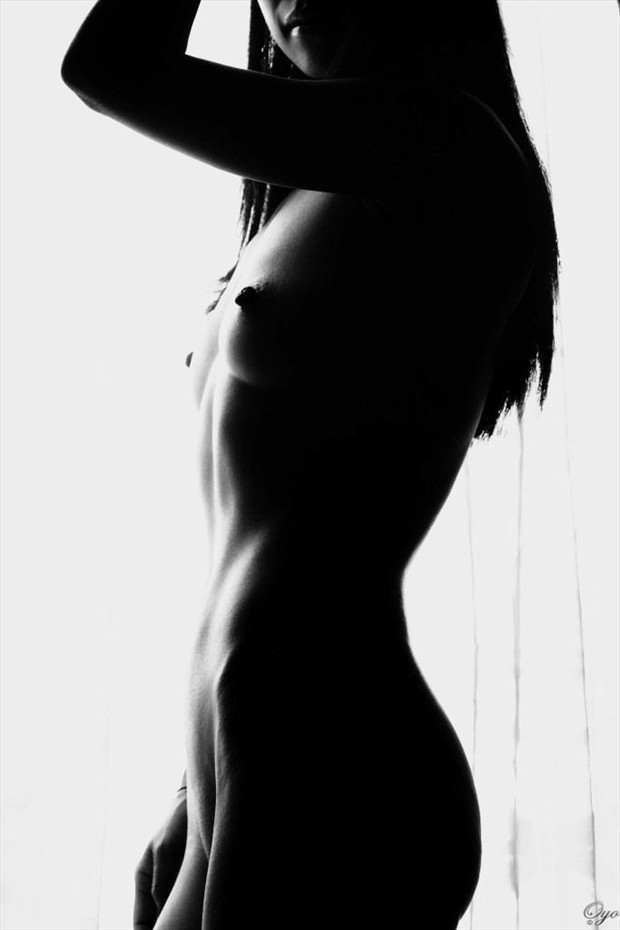 her perfect silhouette Artistic Nude Photo by Photographer Oyo_Photography