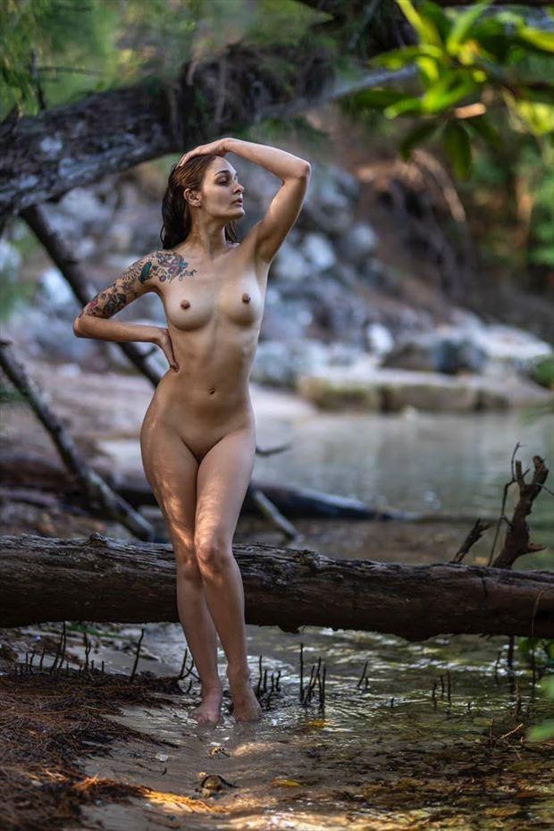 hidden beaches artistic nude photo by model ayeonna gabrielle