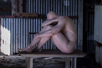 hide me away artistic nude artwork by model noserviceiguess