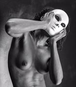 hiding artistic nude photo by photographer gpstack