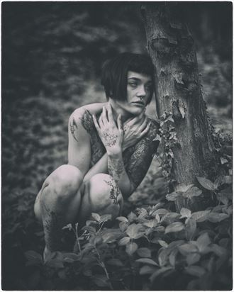 hiding my emotions artistic nude photo by photographer lanes photography
