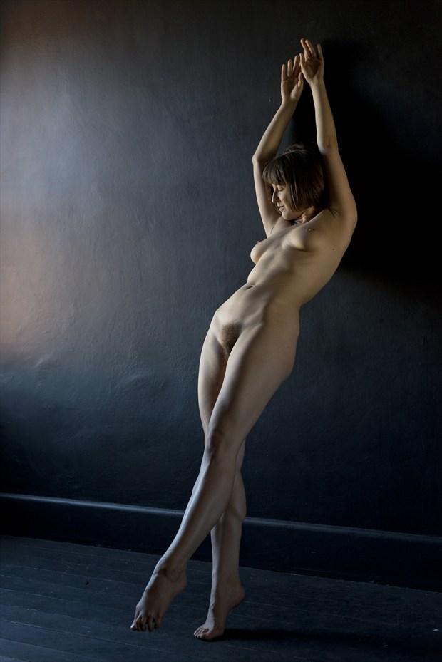 high climb artistic nude artwork by photographer alan h bruce
