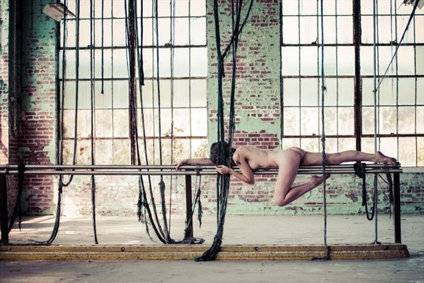 high strung artistic nude photo by model melancholic