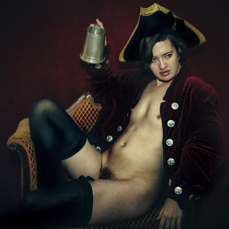 highwayman unmasked artistic nude photo by photographer gf morgan