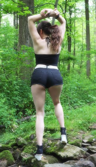 hiking in the woods nature photo by model ladycrystalrose