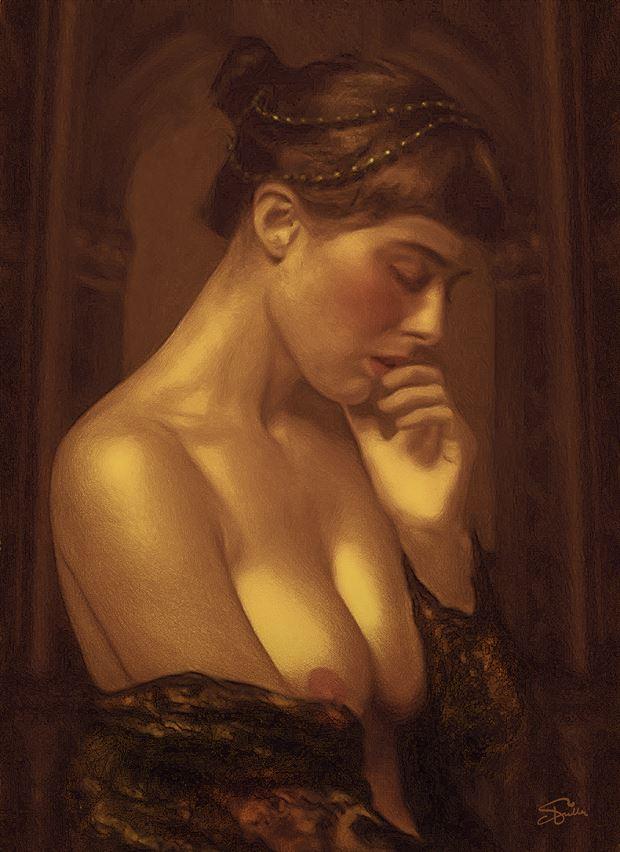 his florentine mistress artistic nude artwork by artist van evan fuller