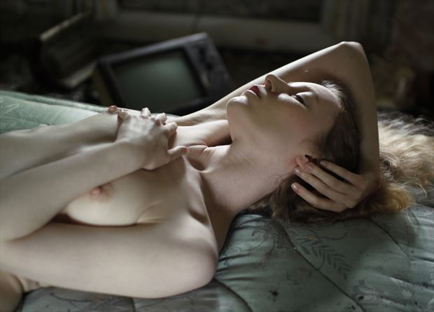 holding on artistic nude photo by photographer douglas ross
