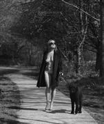 homage to helmut newton artistic nude photo by photographer gibson
