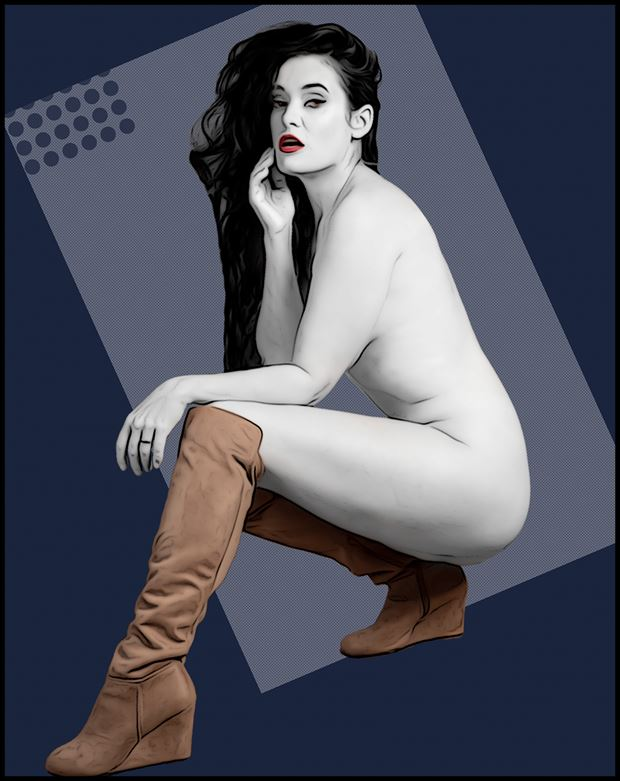 homage to nagel artistic nude photo by photographer yugen photog