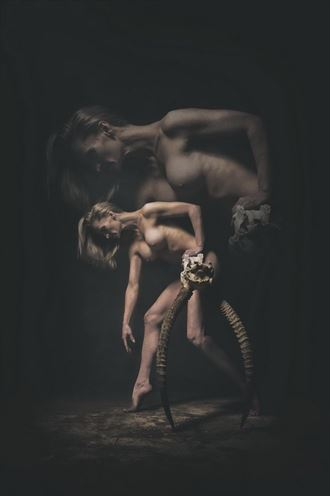 horns artistic nude photo by photographer omega photography