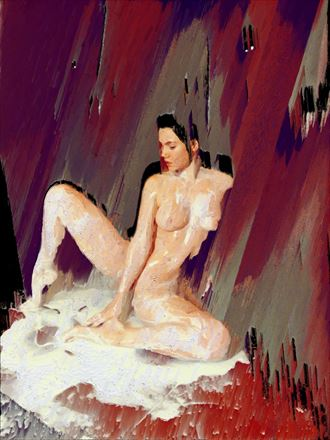 hot mess artistic nude artwork by artist obscured09