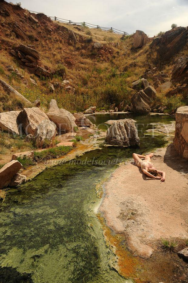 hot springs state park wy artistic nude photo by photographer ray valentine
