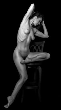 how to properly sit on a stool artistic nude photo by photographer gpstack