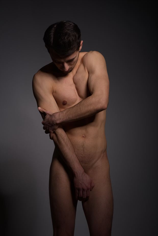 hurt artistic nude photo by model coma12