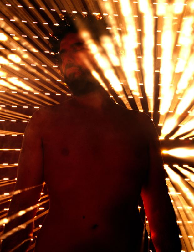 i am the light of my soul artistic nude photo by model cosmopolitano
