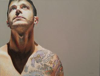 i dream therefore i become tattoos artwork by artist dan simoneau artist
