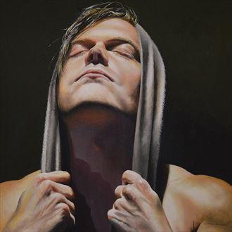 i dream with powerful vision chiaroscuro artwork by artist dan simoneau artist