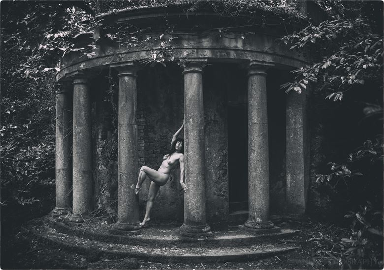 i ll meet you on the mausoleum steps artistic nude photo by photographer lanes photography