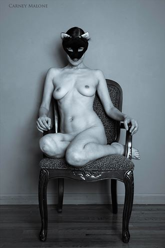i m watching you artistic nude photo by model vox model