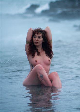 iceland artistic nude photo by model saara rei
