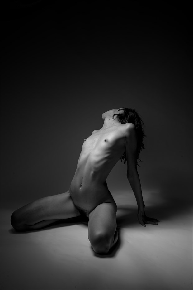 illumination artistic nude photo by photographer toby maurer