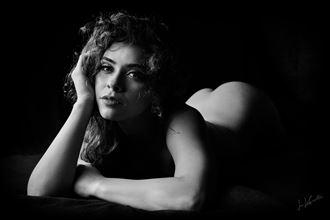 im waiting artistic nude artwork by photographer jon lecoultre
