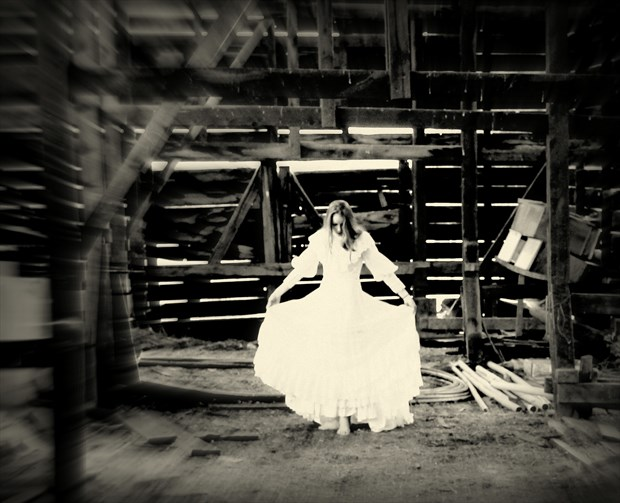 image in the barn Soft Focus Photo by Photographer Kenartkelowna
