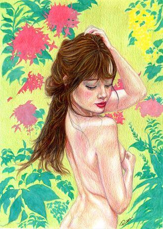 implied nude artwork by artist untuox