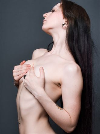 implied nude artwork by photographer northernindianafoto