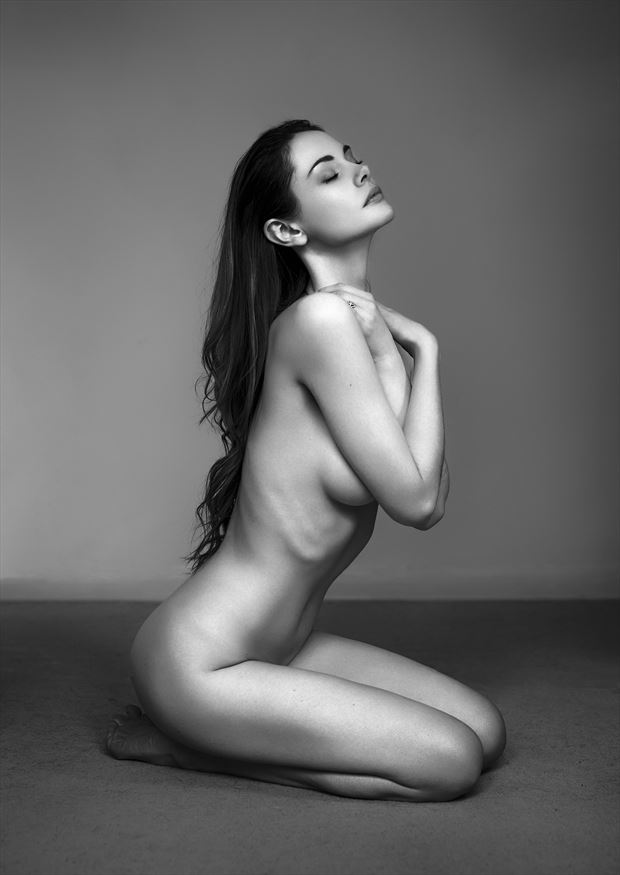 implied nude emotional photo by photographer ellis