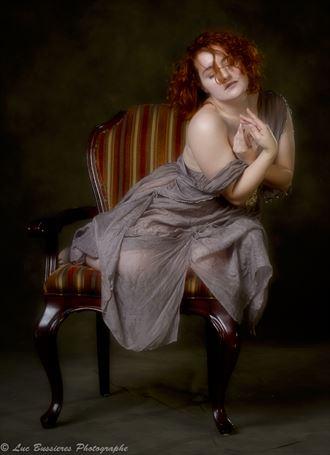 implied nude fashion photo by model ophelia elysian