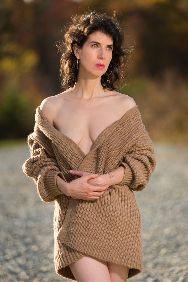 implied nude photo by model carma