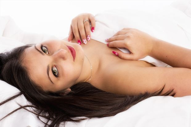 implied nude photo by model lisa elias