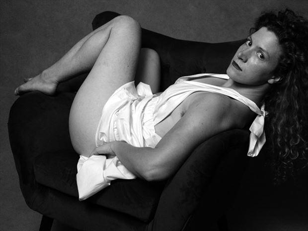 implied nude photo by model madeline reynolds