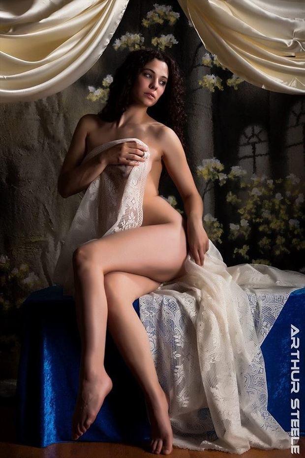 implied nude photo by model nadinetheresastevens