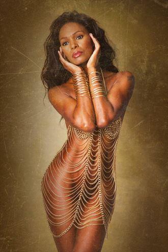 implied nude photo by model natasha j bella