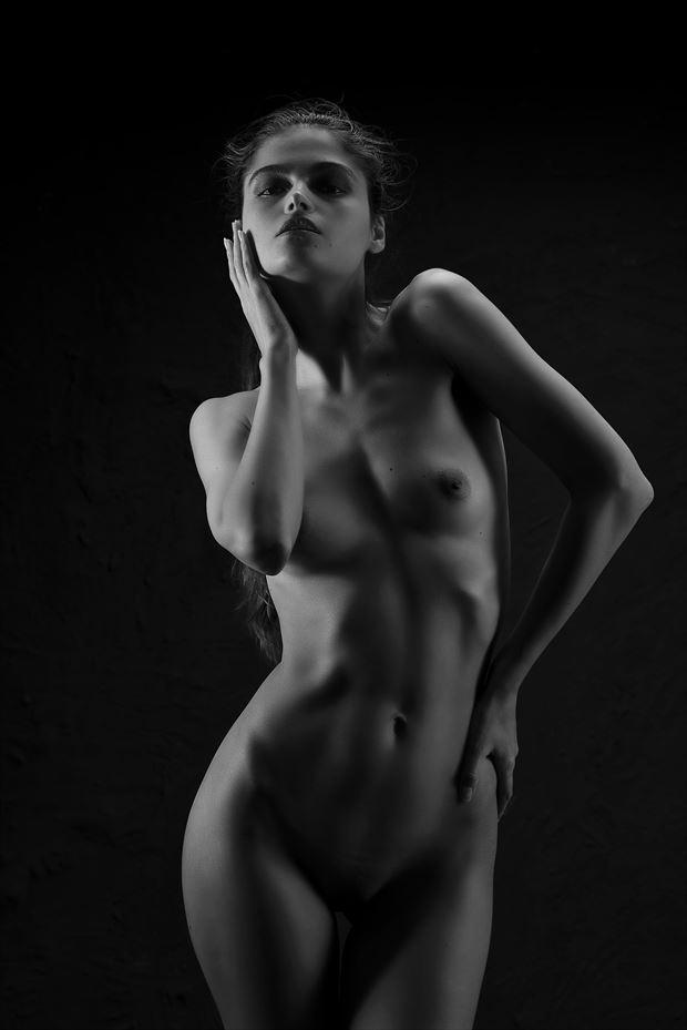 implied nude photo by model vlada art