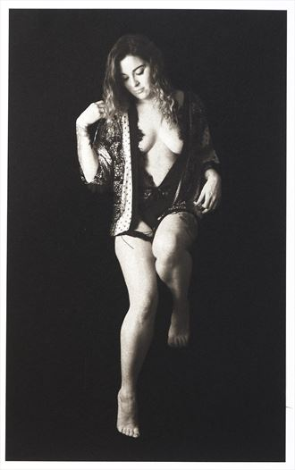 in a short jacket artistic nude photo by photographer rkynast