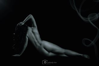 in her leisure artistic nude photo by photographer subhadip