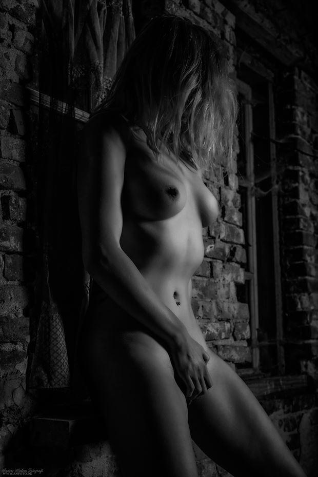 in tenebris obumbratio ii artistic nude photo by photographer anders nielsen