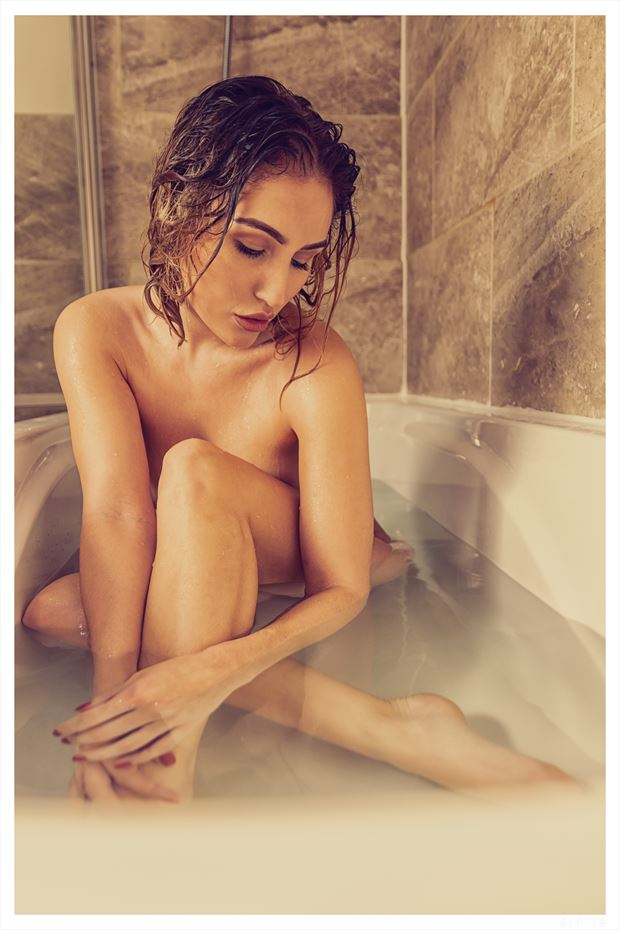 in the bath artistic nude photo by photographer ghost light photo