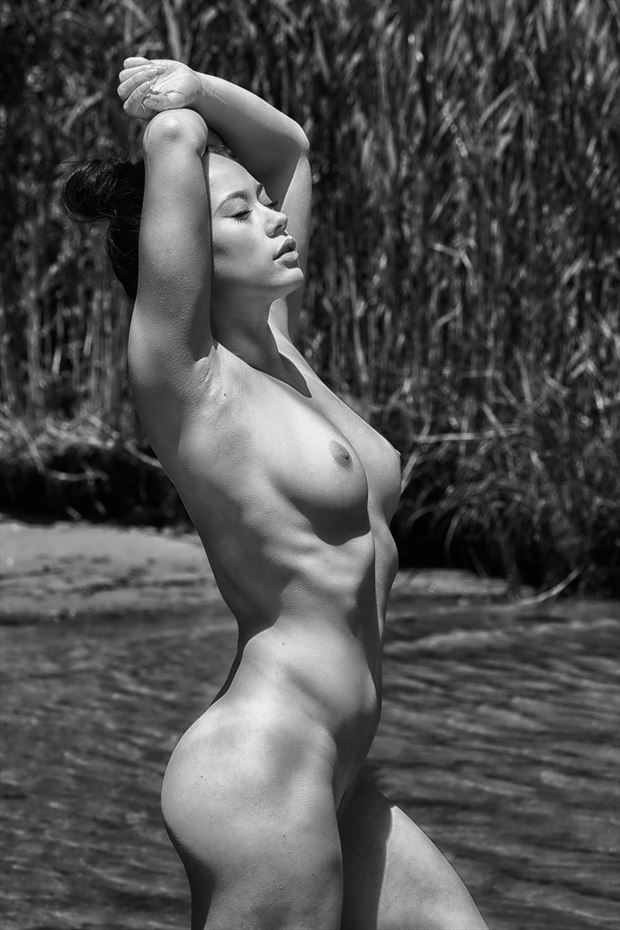 in the bay artistic nude photo by photographer rick jolson