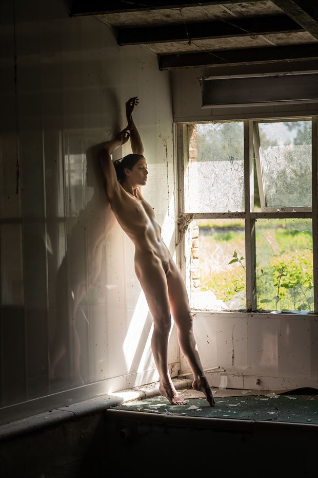 in the decay artistic nude photo by photographer colin dixon
