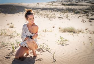 in the dunes nature photo by photographer art of lv