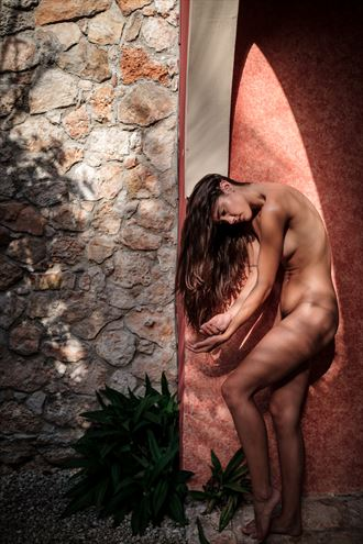 in the golden sun artistic nude photo by photographer colinwardphotography