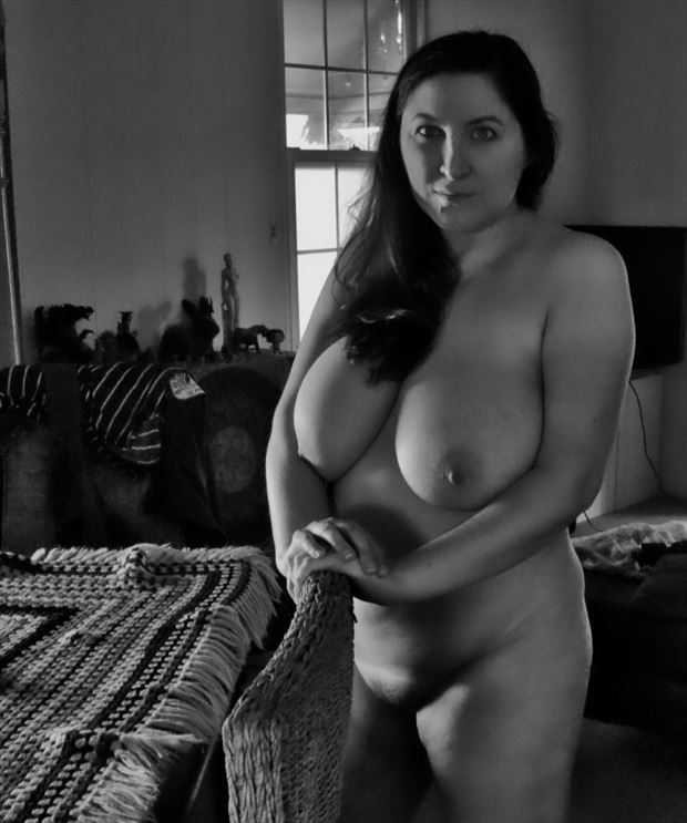 in the lounge artistic nude photo by photographer dvan